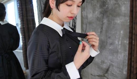 袖を通すだけで耽美な時代が蘇る「nana oyashiki」レトロガーリーな装い