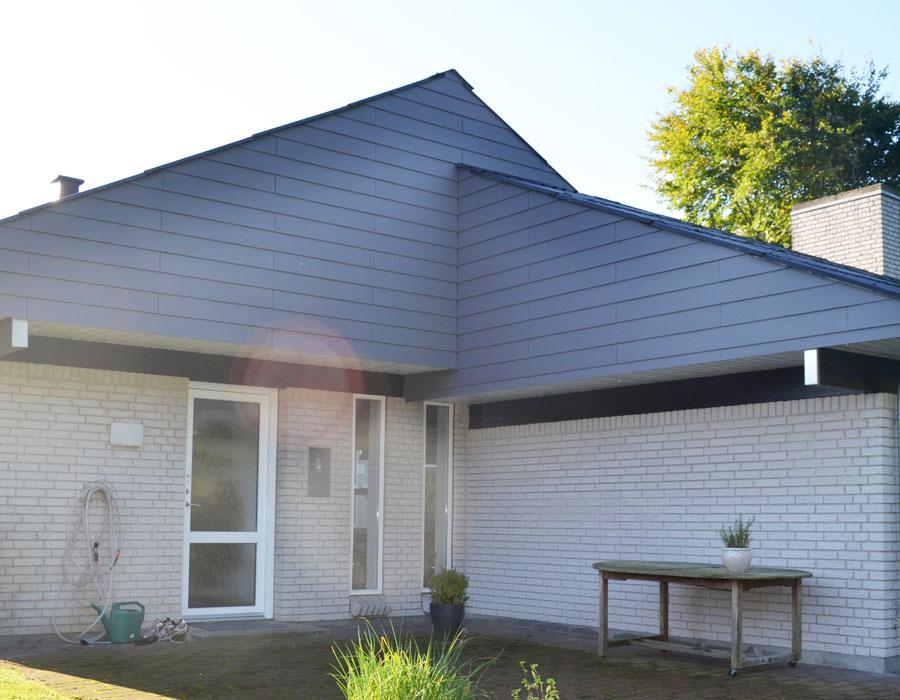 Tømrer- & Snedkerfirmaet Arne Danielsen A/S - Gavlbeklædning