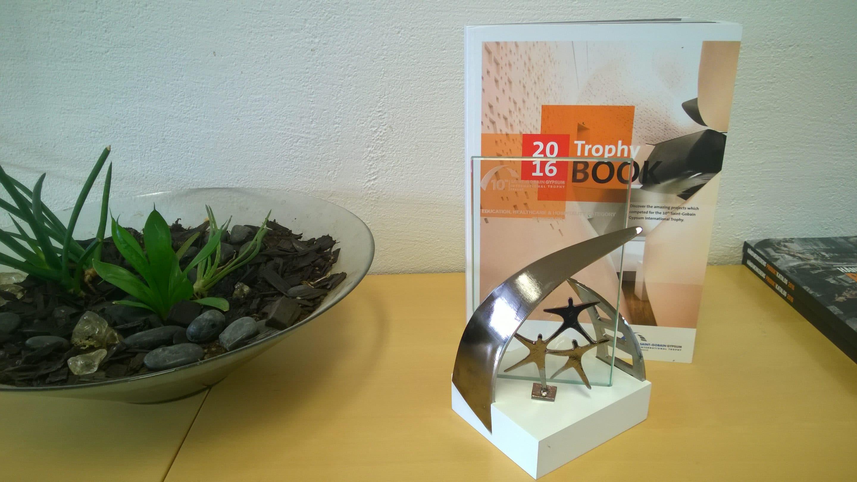 Saint-Gobain Gypsum International Trophy Award