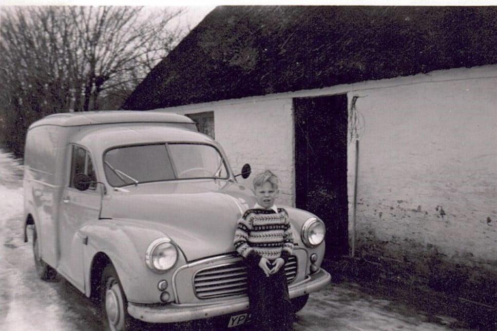 Første firmabil_AD_1961