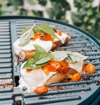 Grilled Garden Eggplant