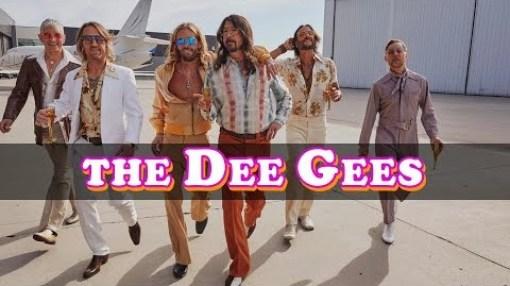 Foo Fighters The Dee Gees