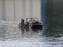 Vltava river paddleboat