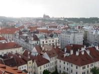 Clock Tower view towards the Prague Castle