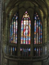 St. Vitus Cathedral stained glass windows