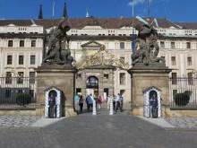 West end of the Prague Castle