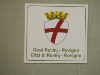 Croatian and Italian names for the City of Rovinj