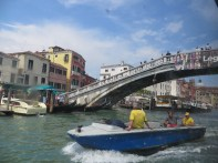 Ponte degli Scalzi - Bridge near the train station