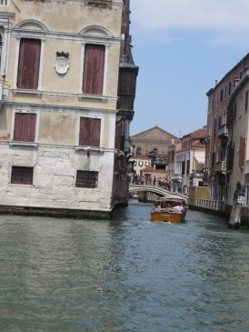 Side canal view