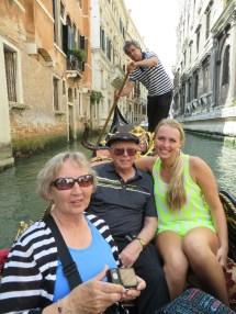 Kathy, Arnie, Julia, and our boatman