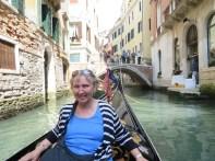 Kathy enjoying the ride