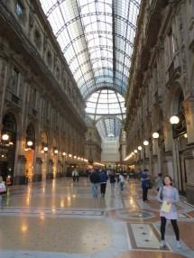 Main corridor of the Galleria