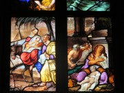 A story in every pane of the stained glass windows