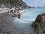Some waves at Vernazza