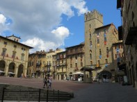 Piazza Grande (Main Square) is a block away from the OUA building