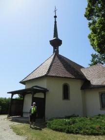 Old hilltop church