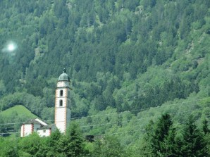 Southwest Switzerland view
