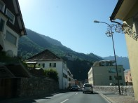 Driving through Vaduz