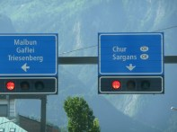 Road back to Switzerland