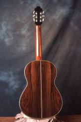 Classical guitar back by Arnie Gamble.