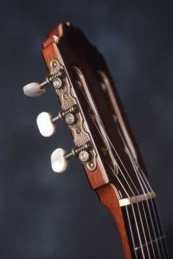 Classical guitar head by Arnie Gamble.