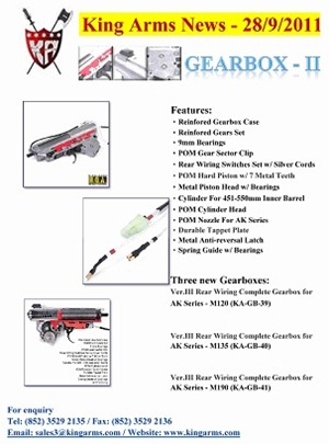 King Arms News - 28 Sep 2011 (Gearbox - II) (Promotion)