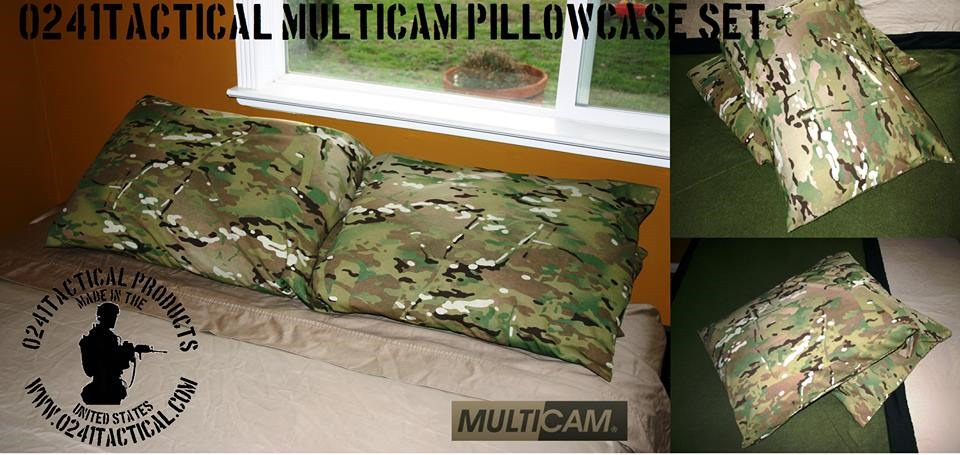 Pillow case sets from 0241Tactical