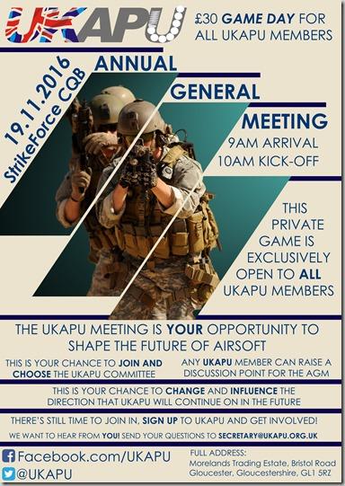 UKAPU Event Flyer