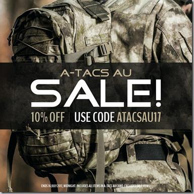 A-TACAS AU Sale 2017 Instagram