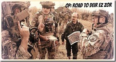 Road to Deir ez Zor