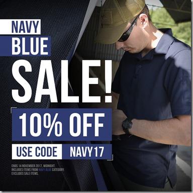 Navy Blue Sale 2017 Instagram