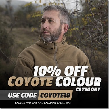 Coyote Sale 2018 Instagram UK
