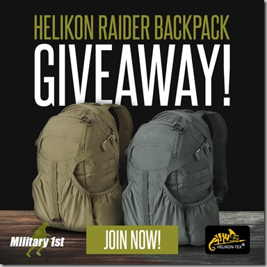 Helikon Raider Backpack Giveaway Instagram