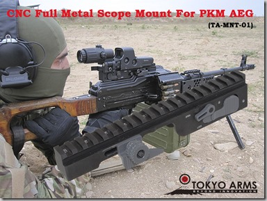 TA PKM SCOPE MOUNT POSTER