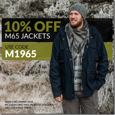 M65 Jackets Sale 2018 Instagram