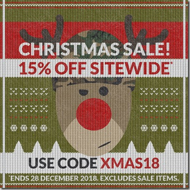Christmas Sale 2018 Instagram