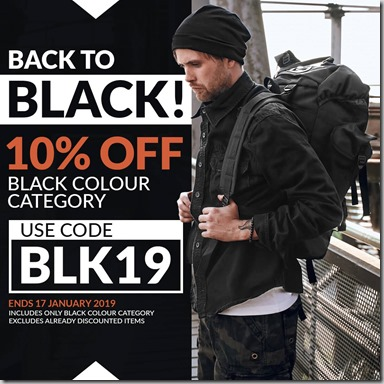 Black Sale 2019 Instagram
