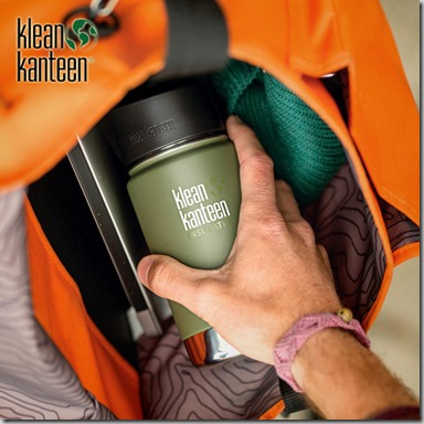Klean Kanteen Wide Mouth Insulated 355ml Bottle Cafe Cap Fresh Pine insta