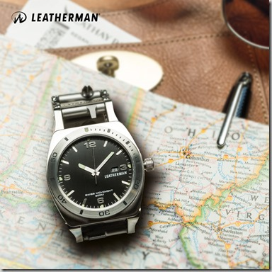 Leatherman Tread Tempo Watch Stainless insta