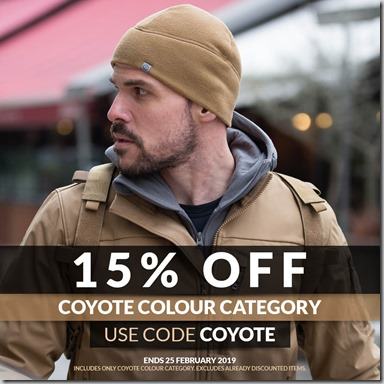 Coyote Sale 2019 Instagram
