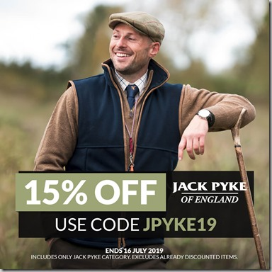 Jack Pyke Sale 2019 Instagram