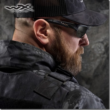 Wiley X WX Valor Polarized Glasses Kryptek Typhon