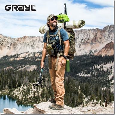 GRAYL Ultralight Water Purifier Bottle Filter Green insta