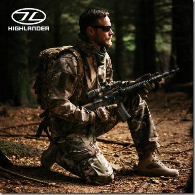 Highlander Tactical Soft Shell Jacket insta