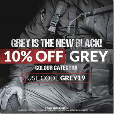 Grey Sale 2019 Instagram
