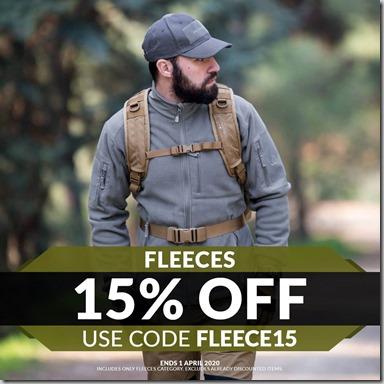 Fleeces Sale 2020 Instagram