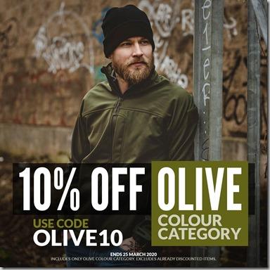 Olive Sale 2020 Instagram