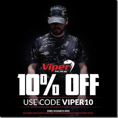 Viper Sale 2020 Instagram