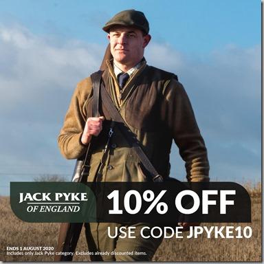 Jack Pyke Sale 2020 Instagram