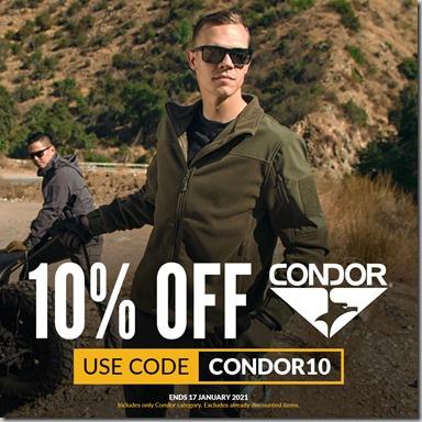 Condor Sale 2021 Instagram